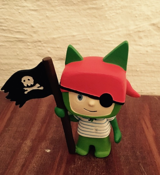Kreativtonie Pirat