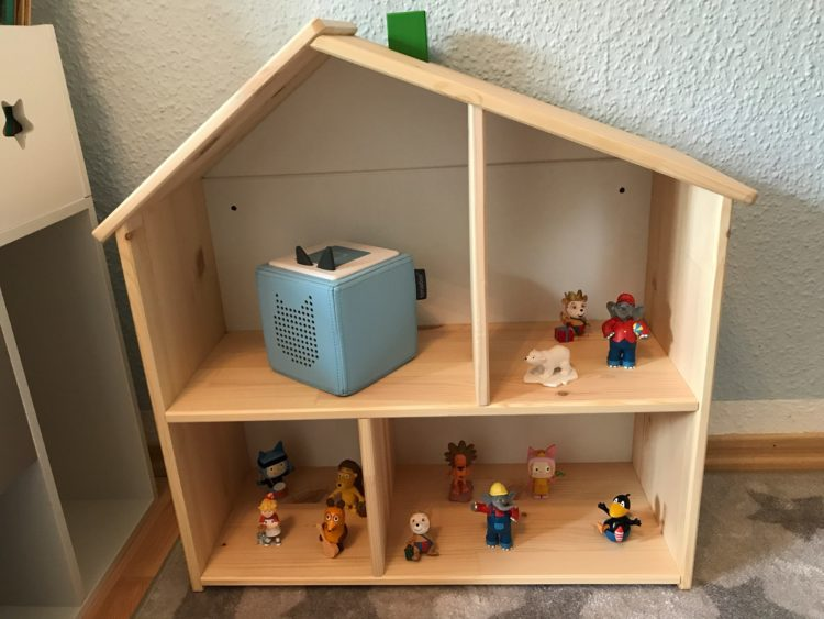 Zubeh r f r die toniebox toniebox regal f r box und die tonie figuren - Ikea puppenhaus mobel ...