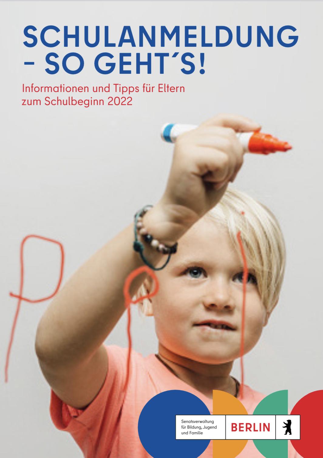 Broschüre zum Schulanfang